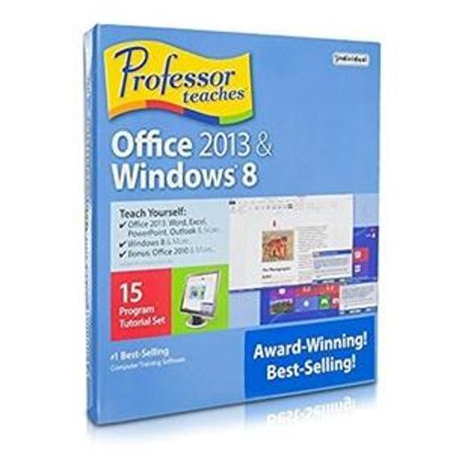 Individual Software Professor Teaches Office 2013, 365 And Windows 8.1