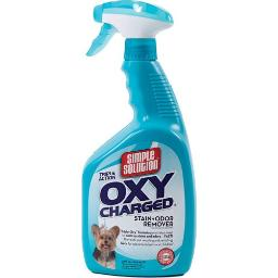 BRAMTON COMPANY SIMPLE SOLUTION OXY CHARGED PET STAIN/ODOR REMOVER 32 OZ 210367