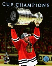 Brad Richards with the Stanley Cup Game 6 of the 2015 Stanley Cup Finals Sports Photo PFSAASB13201