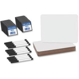 Flipside Product FLP21003 9 x 12 in. Dry Erase Board Set Class Pack