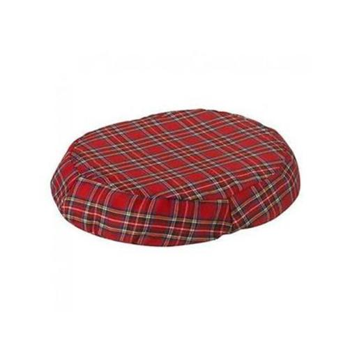 Jobri BH1018PL 18 in. Better Health Ring Cushion Cover, Plaid