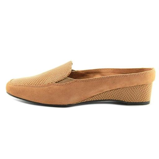J.Renee Womens edlyn Suede Square Toe Mules