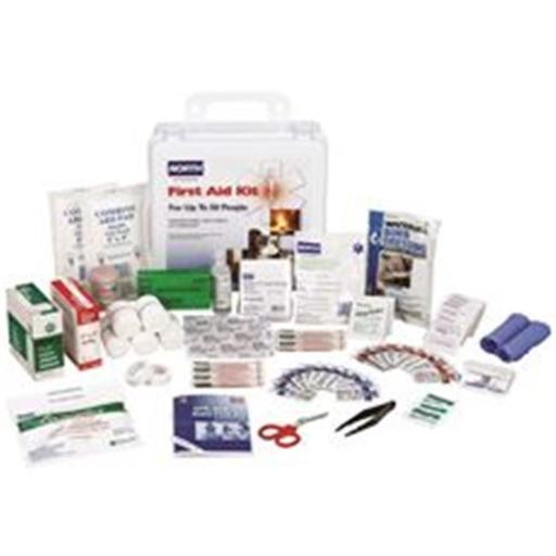 Honeywell Safety Products 3570852 50 Person North Class A Indoor & Outdoor First Aid Kit, Plastic Case