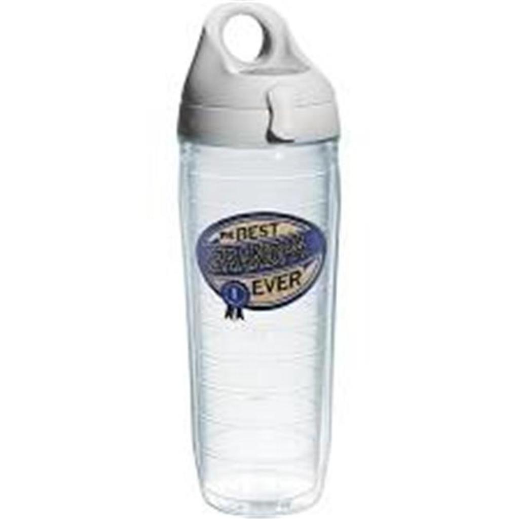 Tervis 093597463884 24 oz Hallmark Best Grandpa Ever Water Bottle with Lid