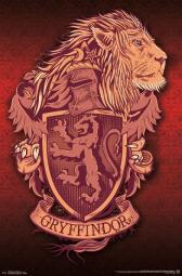 Harry Potter - Gryffindor Lion Poster Print TIARP15080