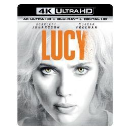 Lucy (blu-ray/4kuhd mastered/ultraviolet/digital hd) BR61179015