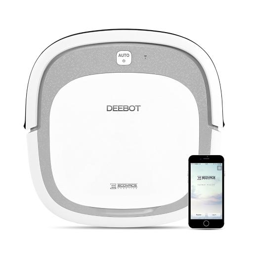 ECOVACS DEEBOT Slim2 WiFi Bare Floor Robotic Vacuum Cleaner with Dry Mopping KYGBD5ABEVZQZGUO