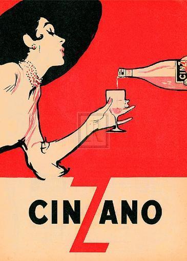 Cinzano Poster Print (20 x 27) 1622349