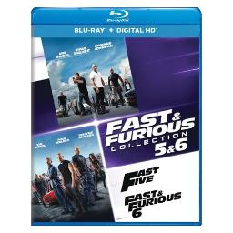 Fast & furious collection 5 & 6 (blu ray w/digital hd) (2discs) BR61184994