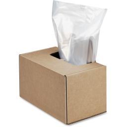 Fellowes, inc. 3604101 fellowes hs shrdr bags 50/roll