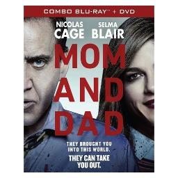 Mom & dad (blu ray/dvd combo pack) BREOE8436