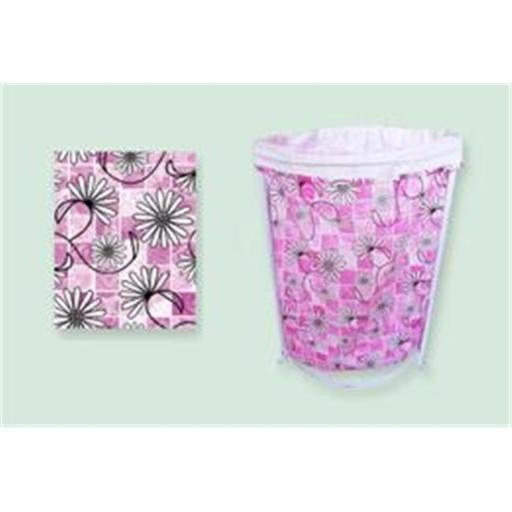 Sassy Sacks for Trash SS1002 - 3 lavendar Designer trash can liners with additional uses - Pack of 6