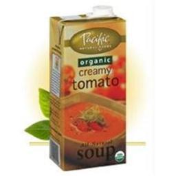 Pacific Natural Foods B01689 Pacific Natural Foods Bisque, Hearty Tomato -12x17.6oz