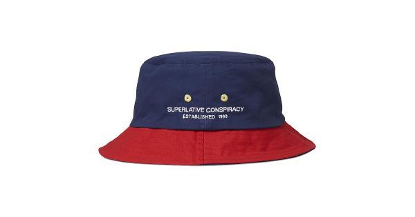 WeSC Mens Reversible Fishing Bucket Hat