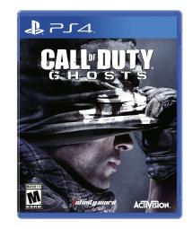 Playstation 4 Call of Duty Ghosts Video Game Disc New Sealed Sony PS4