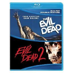 Evil dead 1 & 2 (blu ray) (double feature/ws/eng/2disc) BR52885