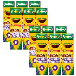 Crayola llc 12 bx crayola multicultural 8ct 684208bn