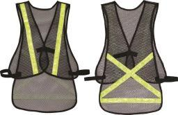 Altair Mesh W/Yellow Stripe One Size Vest