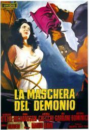 Black Sunday On Left: Barbara Steele; Italian Poster Art 1960. Movie Poster Masterprint EVCMCDBLSUEC024H