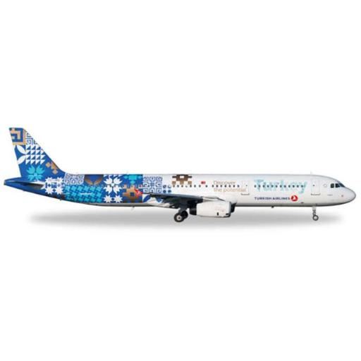 Herpa Wings HE557900 Turkish A321 1-200 Turkey Discover Potential 4D2D0F7566BFA8DB