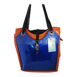 Aryana Ashlyn2blu Blue Handbag With Top Zip Closure