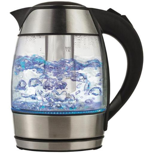 Borosilicate Glass Tea Kettle with Tea Infuser