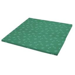 Early Childhood Resources ELR-12674-GN SoftZone Hands & Feet Play Mat, 2-Fold - Green