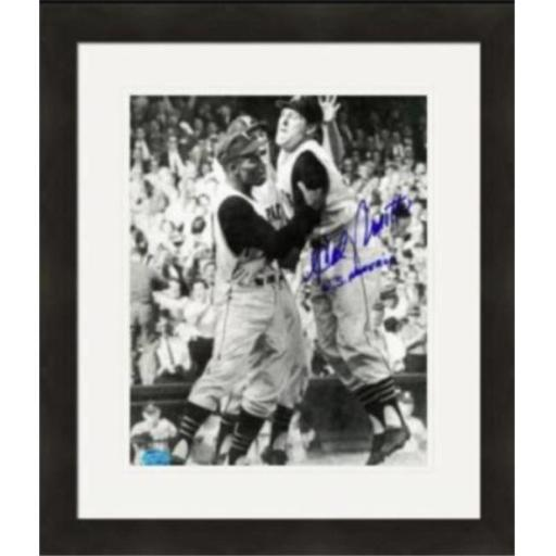 Autograph Warehouse 422071 Hal Smith Autographed 8 x 10 in. Photo Pittsburgh Pirates World Series No.6 Inscribed WS Home Run Matted & Framed