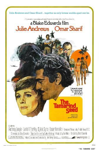 The Tamarind Seed Us Poster Julie Andrews Omar Sharif 1974 Movie Poster Masterprint
