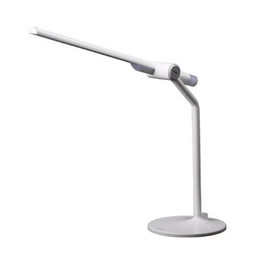 Dimmable LED Desk Lamp with Anti-Glaring Filter, White