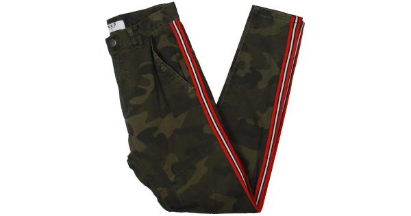 NXP Mens Camouflage High Rise Skinny Pants