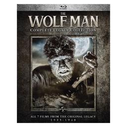 Wolf man-complete legacy collection (blu ray) (4discs) BR61181215