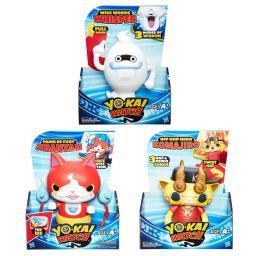 Hasbro HSBB7503 Yo-Kai Series 2 Electronic Figures, Assorted Colors - Set of 3