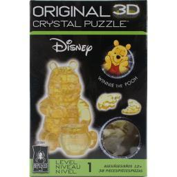 3-D Licensed Crystal Puzzle-Winnie The Pooh 3DCRYPUZ-30984
