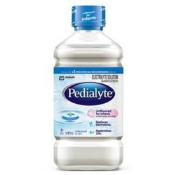 Abbott Nutrition 5259892 Pedialyte Unflavored 2 oz Bottle, Institutional