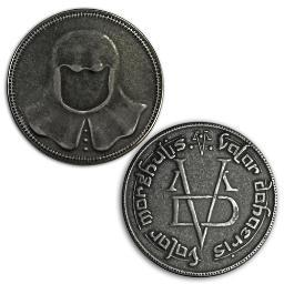 Game Of Thrones Iron Coin of the Faceless Man HBO Arya Stark Valar Morghulis