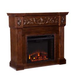Holly & Martin Huntington Electric Fireplace, ESPRESSO