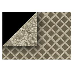 Heritage Lace DU-1319X Duet 13 x 19 in. Placemat - Flax
