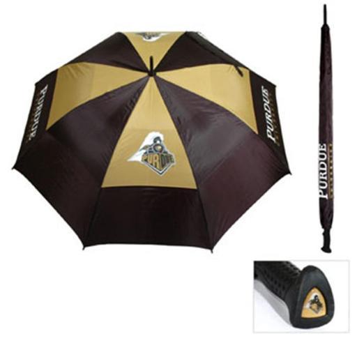 Team Golf 23069 Purdue University 62 in. Double Canopy Umbrella