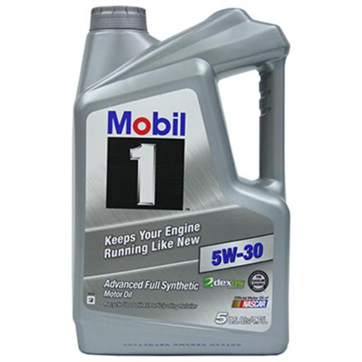 Mobil MO04535Q 5 Quart 5W30 Synthetic Motor Oil, Pack of 3