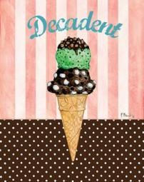 Ice Cream Shoppe III Poster Print by Paul Brent PDXBNT1068SMALL