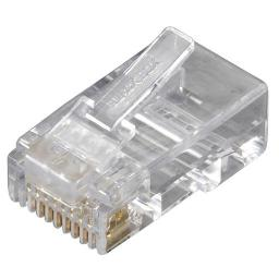 Black Box Network Services Fmtp6-r2-25pak Cat6 Modular Plugs, Rj-45, 25-pack