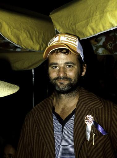 Bill Murray wearing a baseball cap Photo Print ZL3AADEGQN5QJRNH