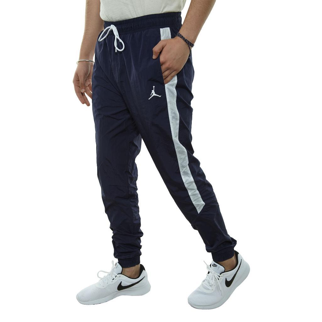 Nike Air Jordan Mens Sportswear Diamond Track Pants White//Black New