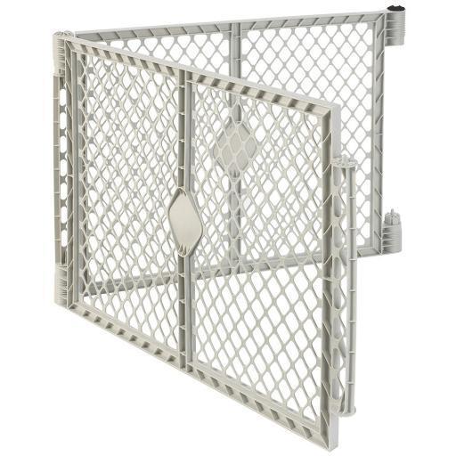 North States 8662 White North States Superyard Xt Pet Gate Extension Kit 2 Panel White 30 X 26