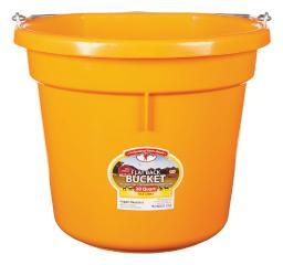 Little Giant 20 qt. Bucket Orange - Case Of: 1;