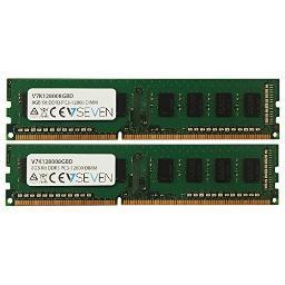 V7 memory v7k128008gbd 8gb kit 2x4gb kit ddr3 1600mhz V7K128008GBD