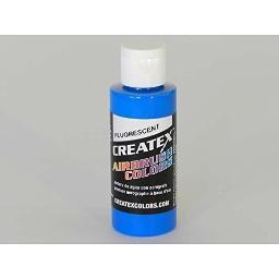 Createx Colors 540302 Airbrush Fluorescent Blue 2Oz