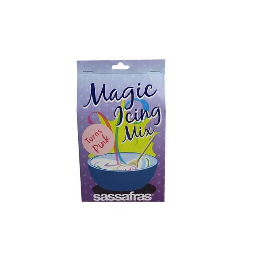 Sassafras 2013P Magic Color Changing Icing Mix, Pink