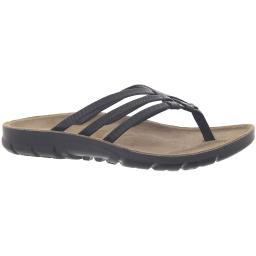 Cliffs by White Mountain Womens Big Time Embossed Comfort Sole Thong Sandals